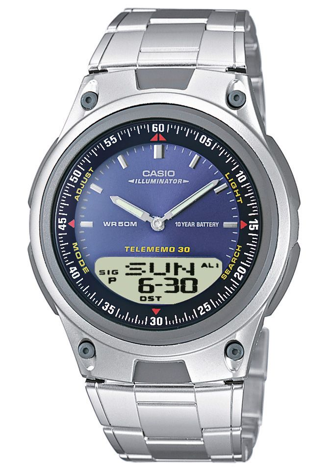 CASIO COLLECTION Casio Collection Chronograph »AW-80D-2AVES«