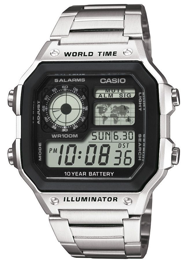 CASIO COLLECTION Casio Collection Chronograph »AE-1200WHD-1AVEF«