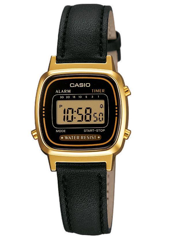 CASIO COLLECTION Casio Collection Chronograph »LA670WEGL-1EF«
