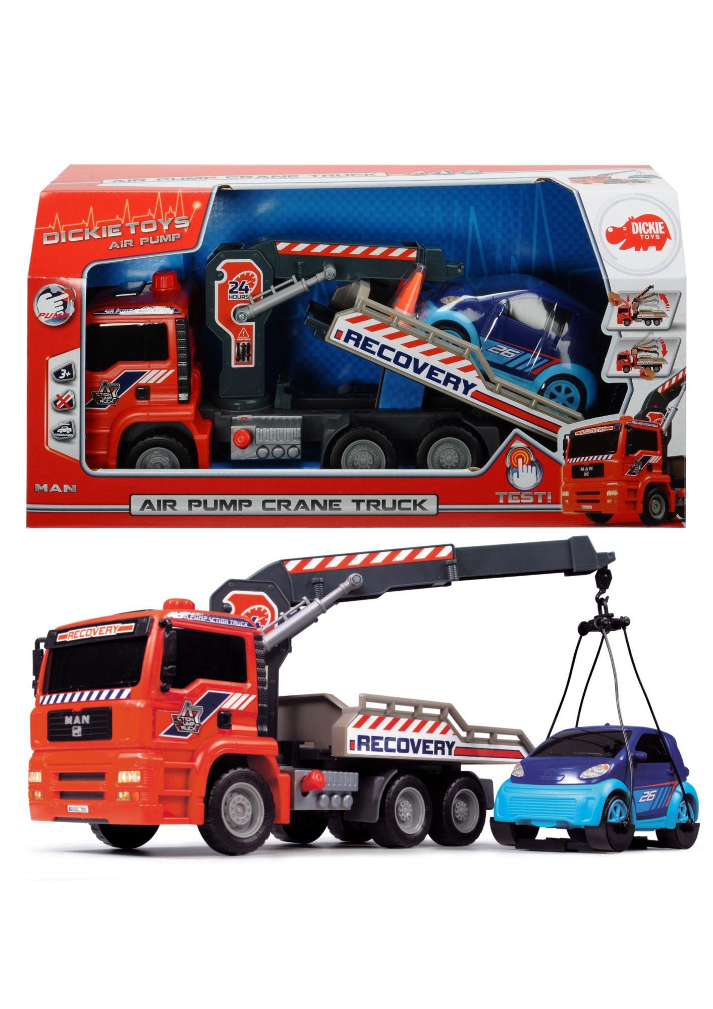 DICKIE TOYS Dickie Toys Spielzeugauto Abschleppwagen »Air Pump Crane Truck«