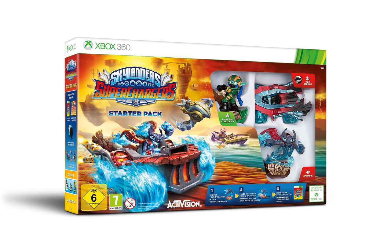 ACTIVISION Activision XBOX 360 - Spiel »Skylanders SuperChargers Starter Pack«