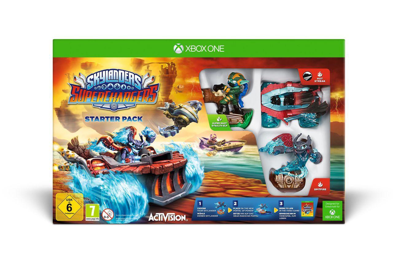 ACTIVISION Activision XBOX One - Spiel »Skylanders SuperChargers Starter Pack«