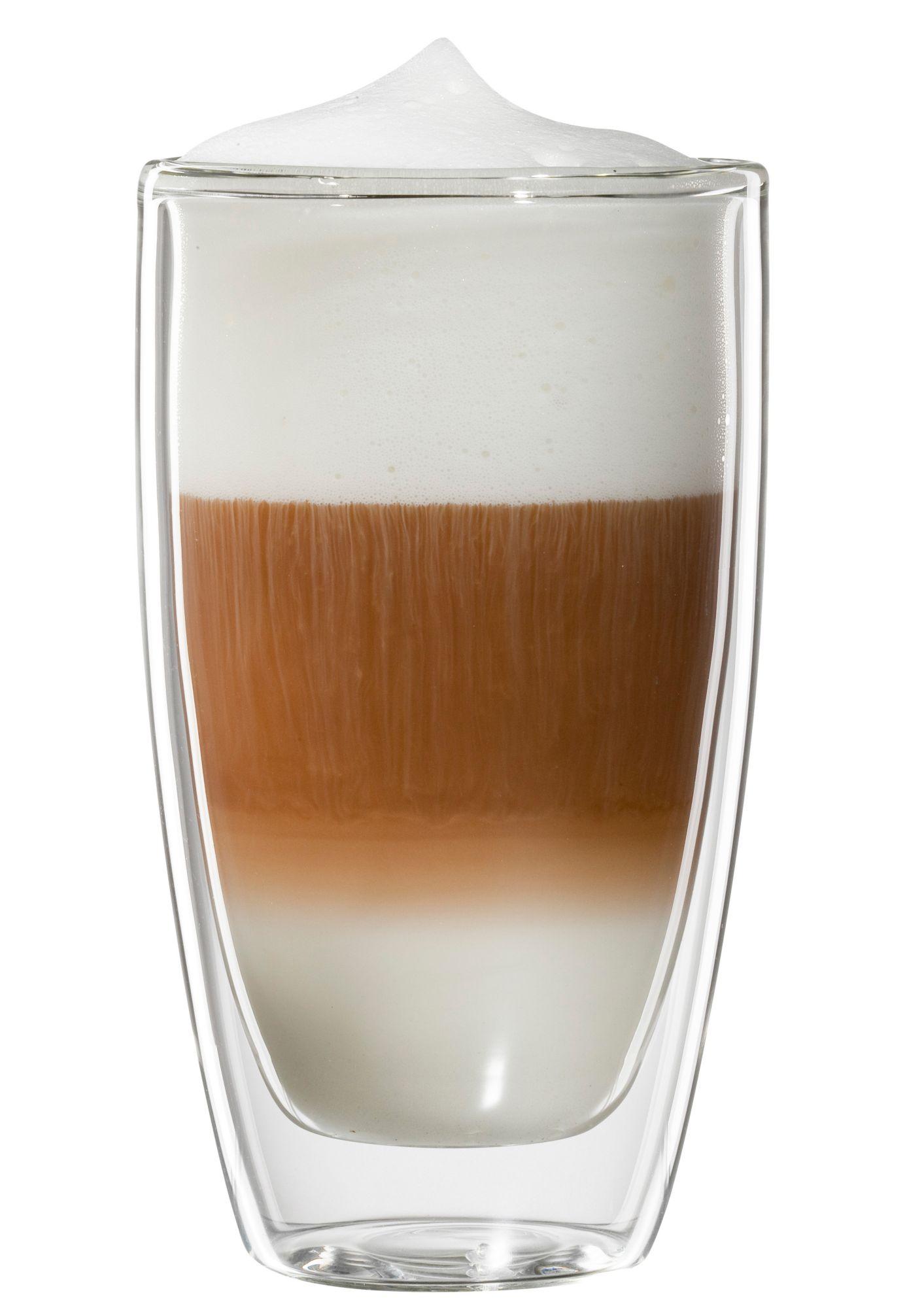 BLOOMIX bloomix Latte Macchiato-Glas, 4er Set, »Roma«, 300 ml