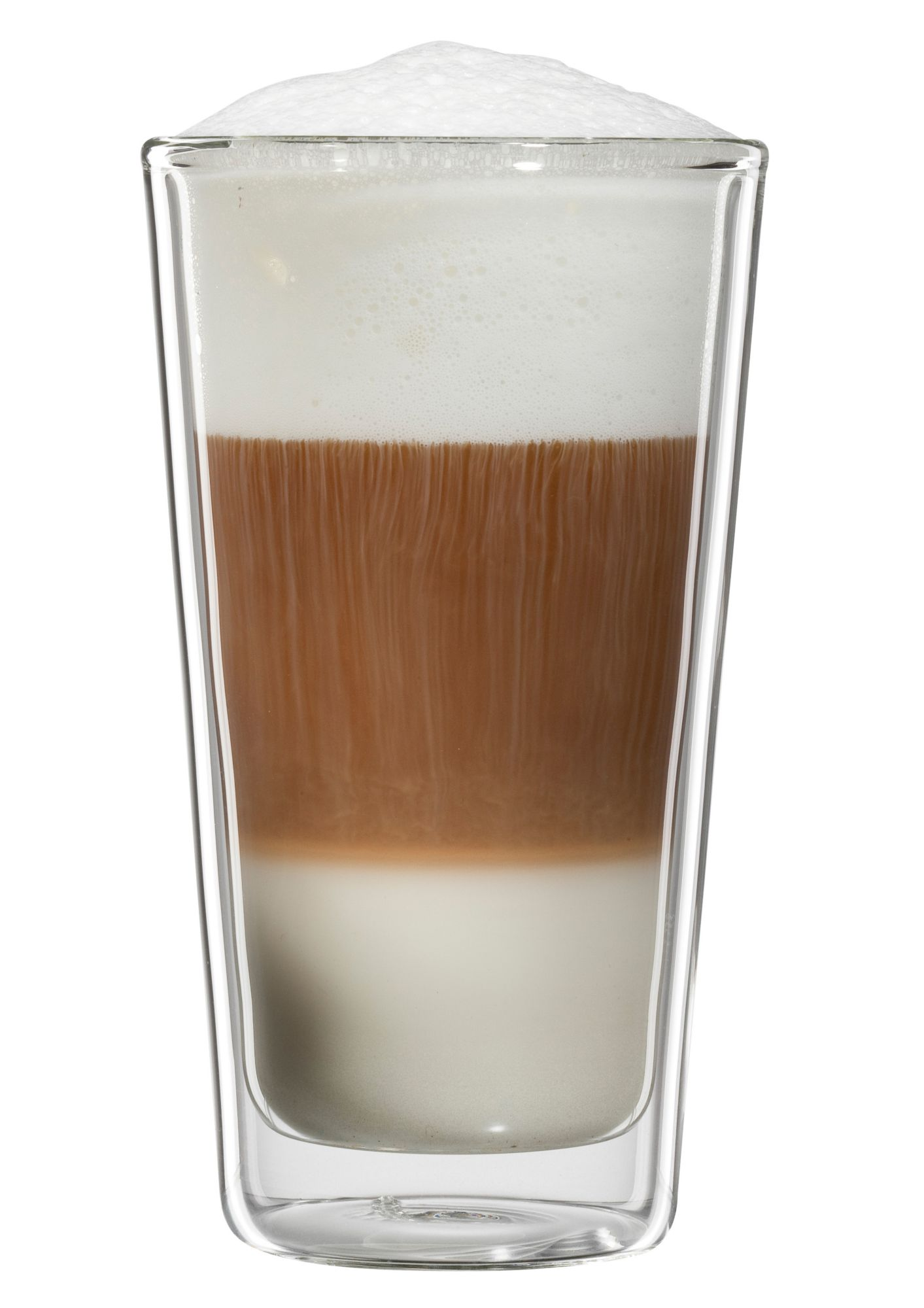 BLOOMIX bloomix Latte Macchiato-Glas, 4er Set , »Milano«, 300 ml