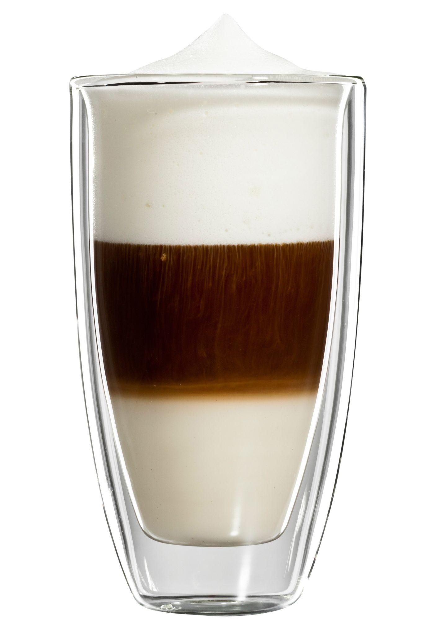 BLOOMIX bloomix Latte Macchiato-Glas, 4er Set, »Roma Grande«, 350 ml