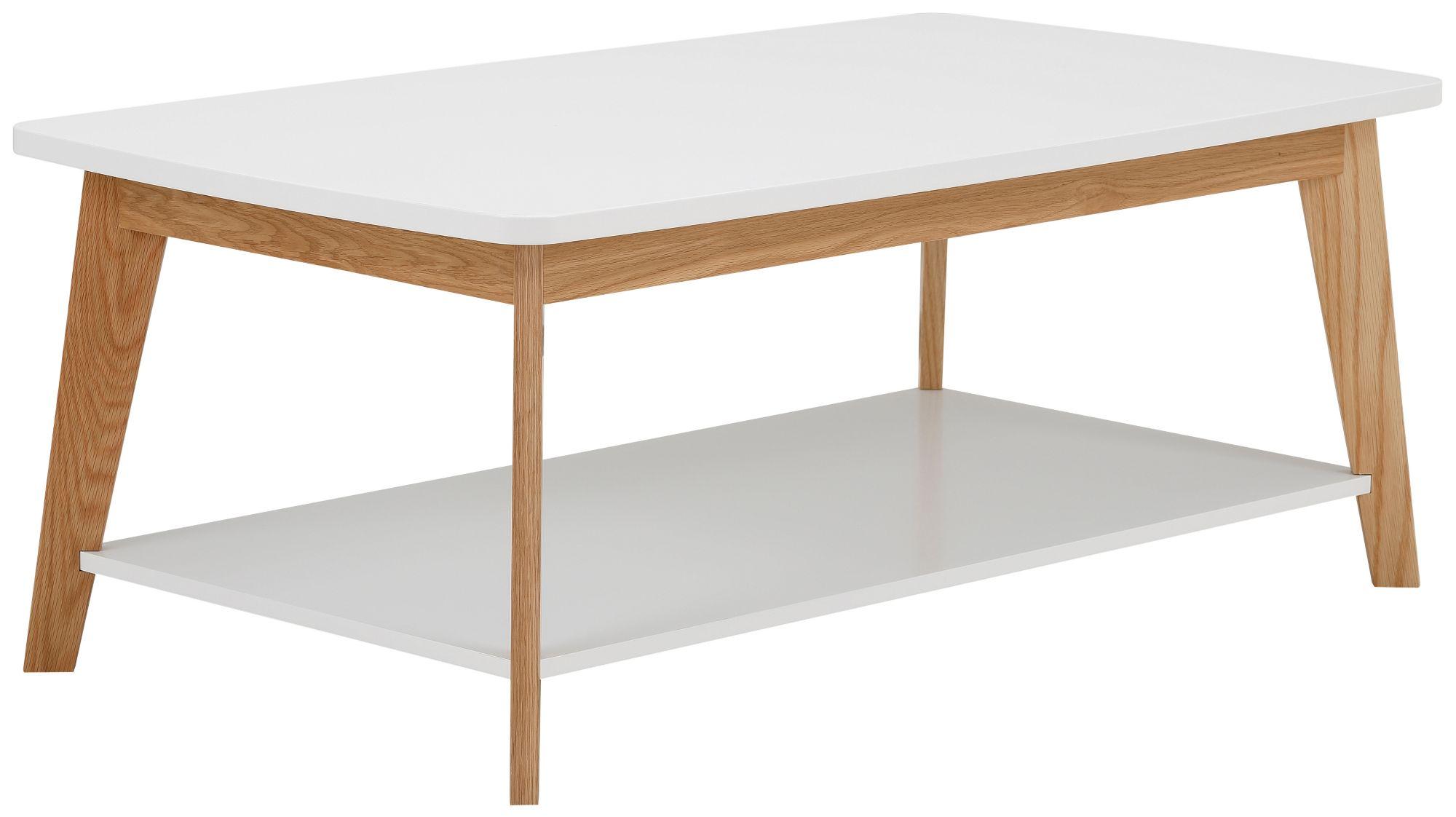 ANDAS andas Couchtisch »Kensal white«, Breite 115 cm