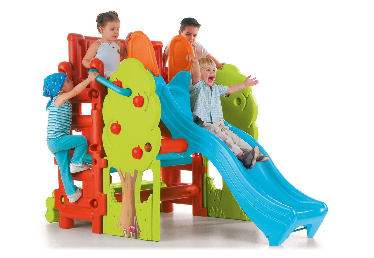 FEBER Feber Spielhaus für Drinnen und Draußen, »Baumstamm Haus«