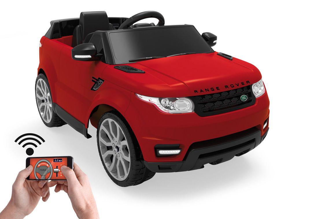 FEBER Feber Elektrofahrzeug über App fernsteuerbar, »Range Rover Sport 6V rot«