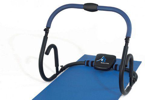 HAMMER Bauchmuskel-Trainer, ®, »AB Sensation« inkl. Trainingsmatte, Zusatzgewichte, Griffvarianten