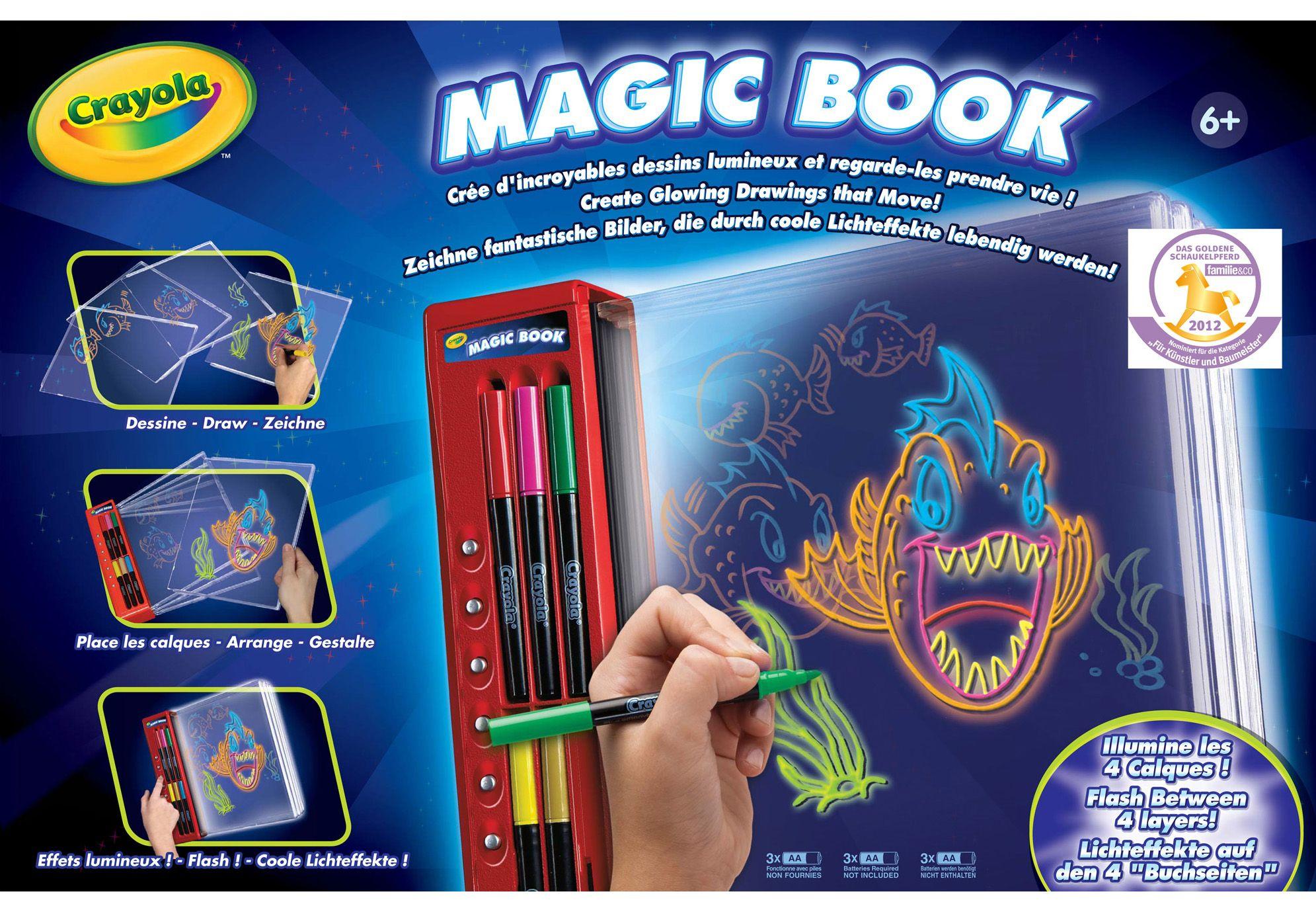 CRAYOLA Crayola Malbuch, »Magic Book«