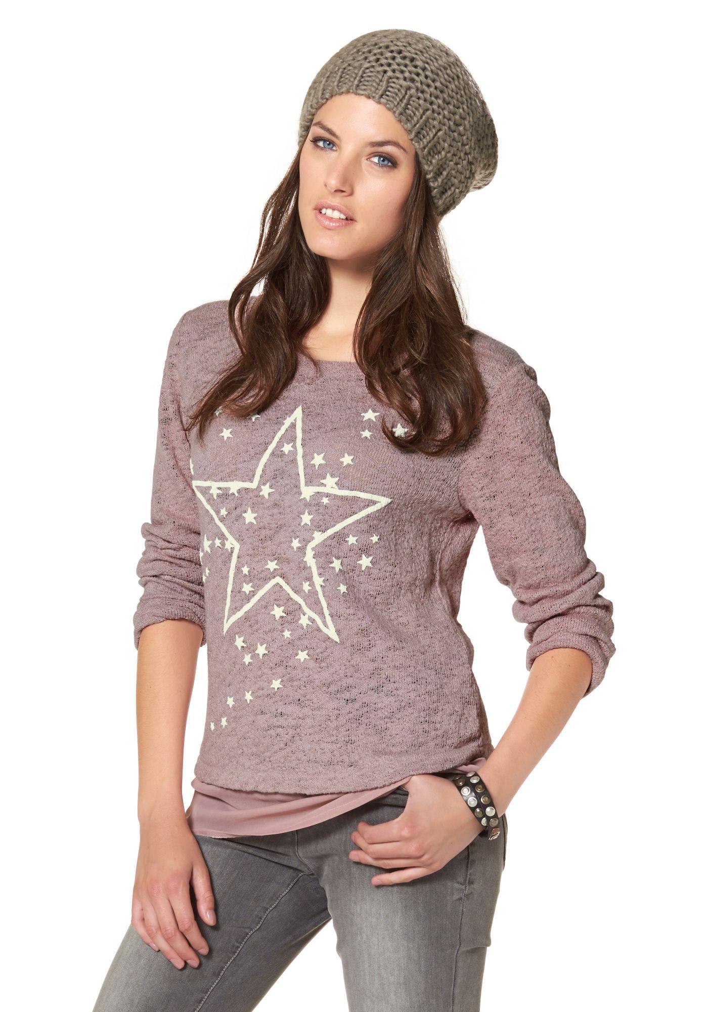 ANISTON Aniston 2-in-1-Pullover