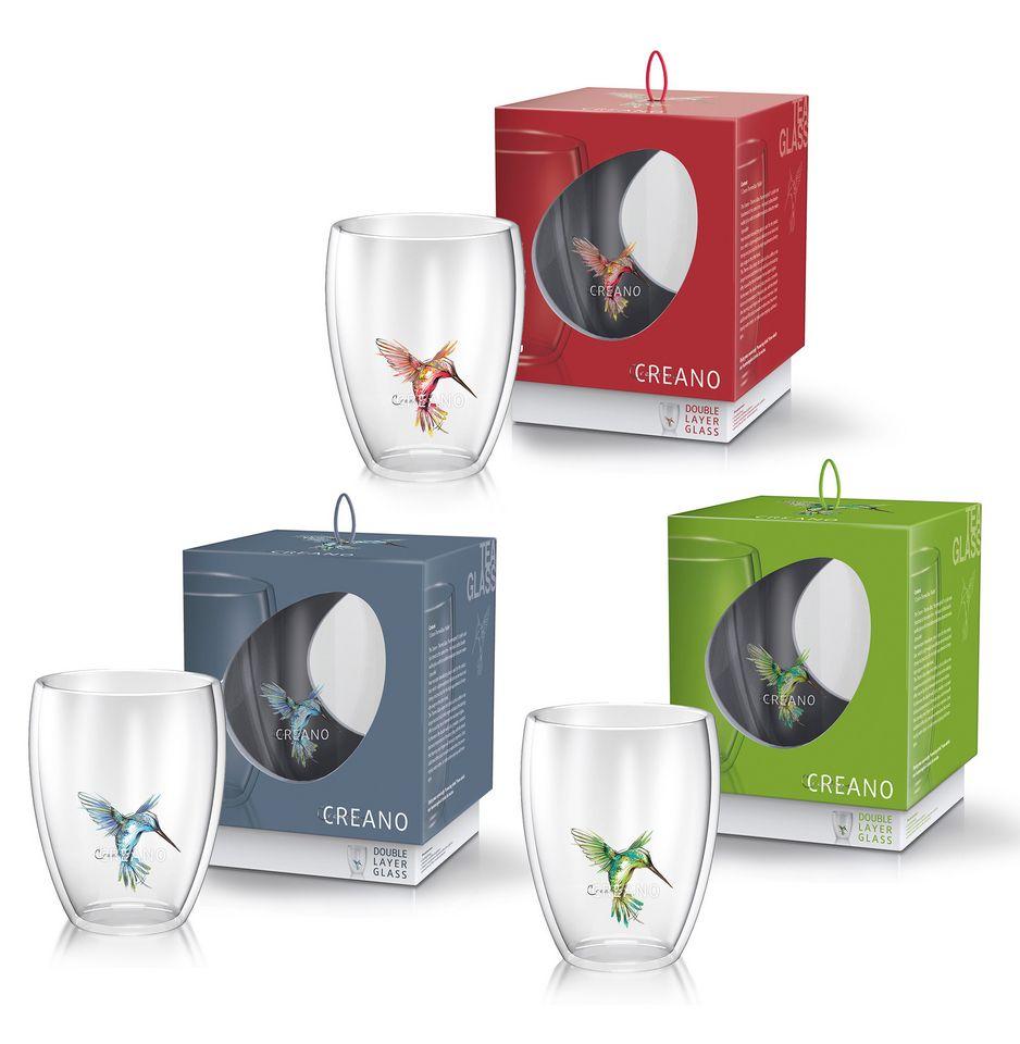CREANO Creano Thermo-Glas Hummi (3er Set)