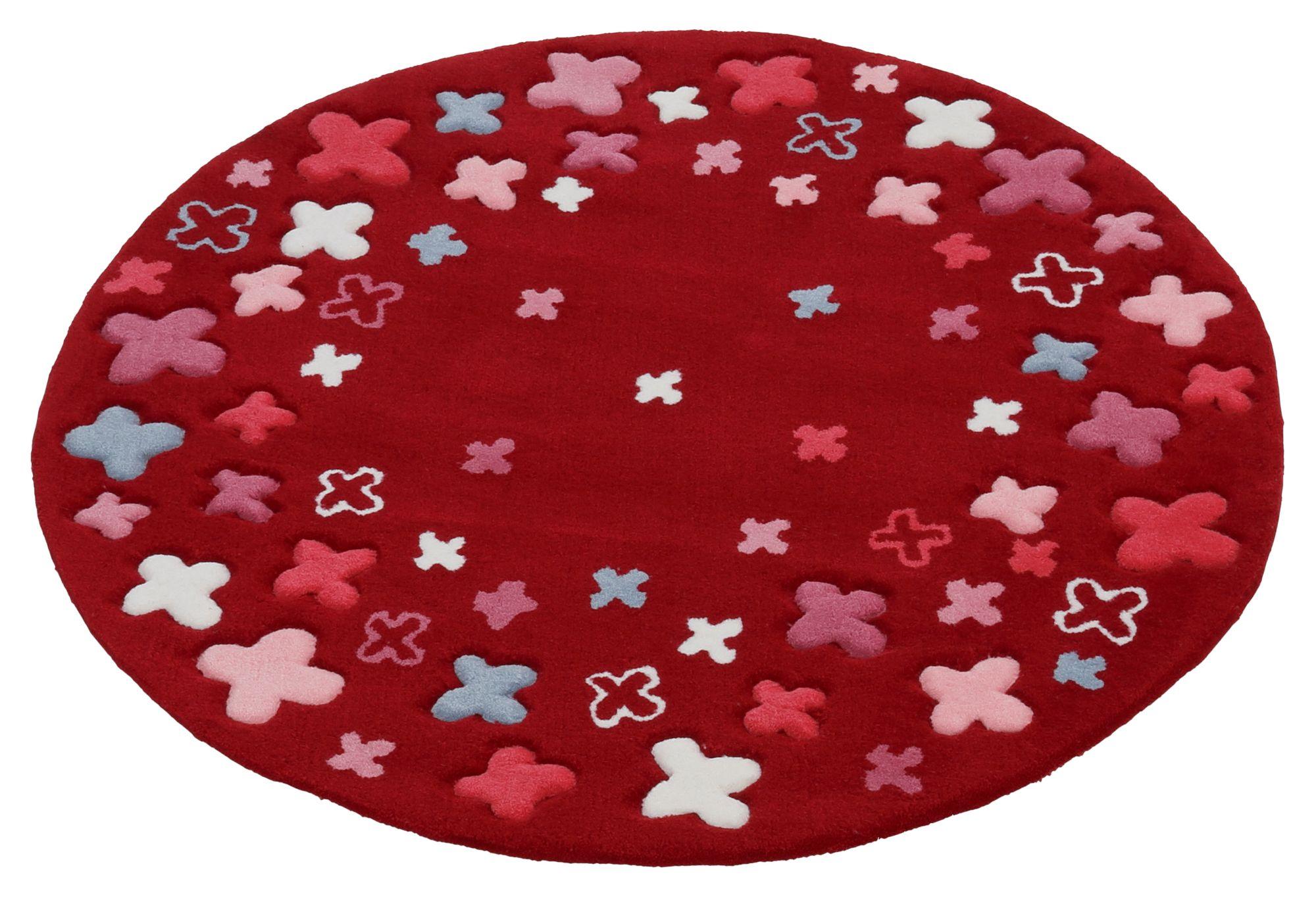 Kinder-Teppich, Esprit, »Bloom Field«, handgetuftet