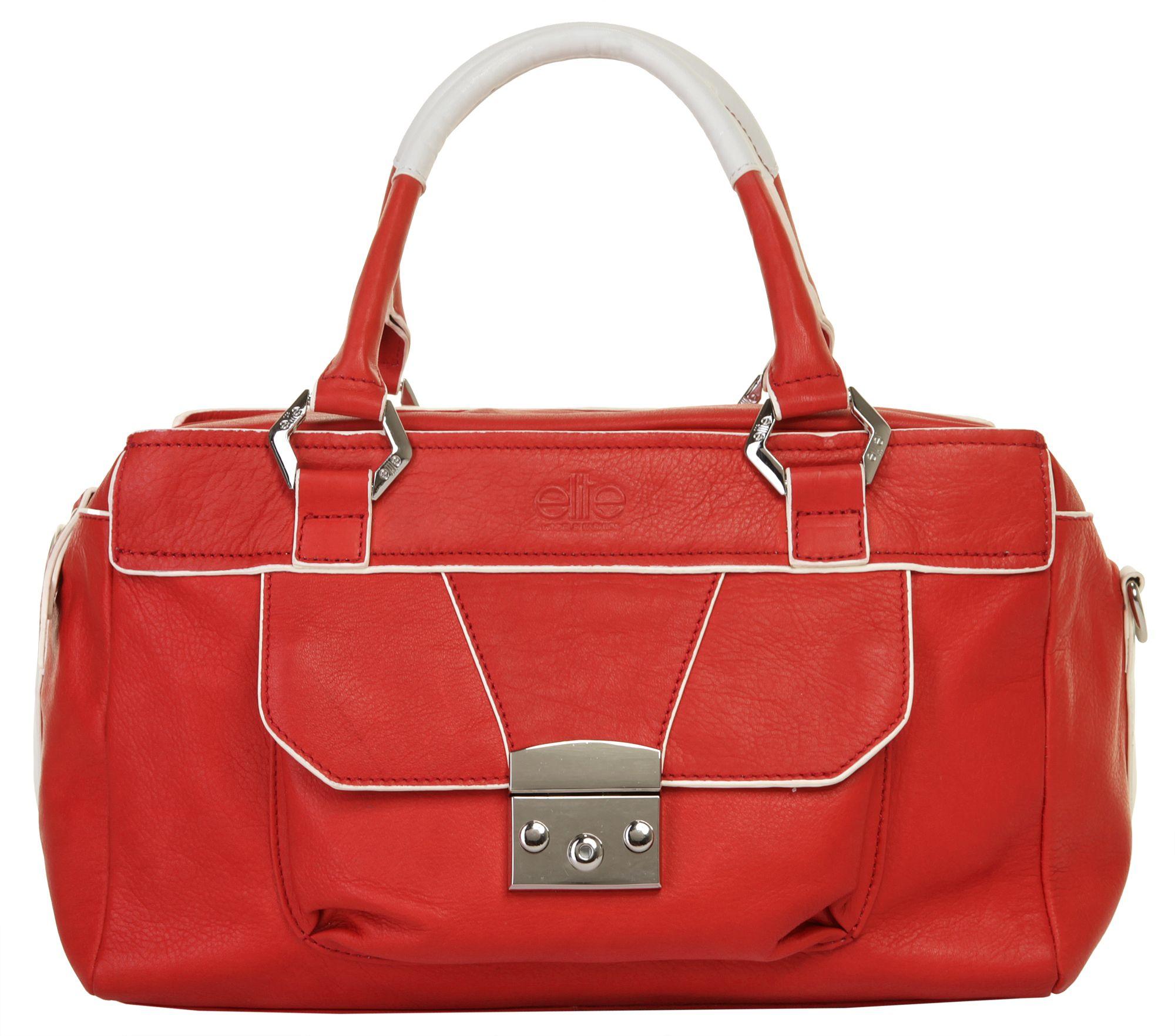 ELITE MODEN  Leder Damen Handtasche