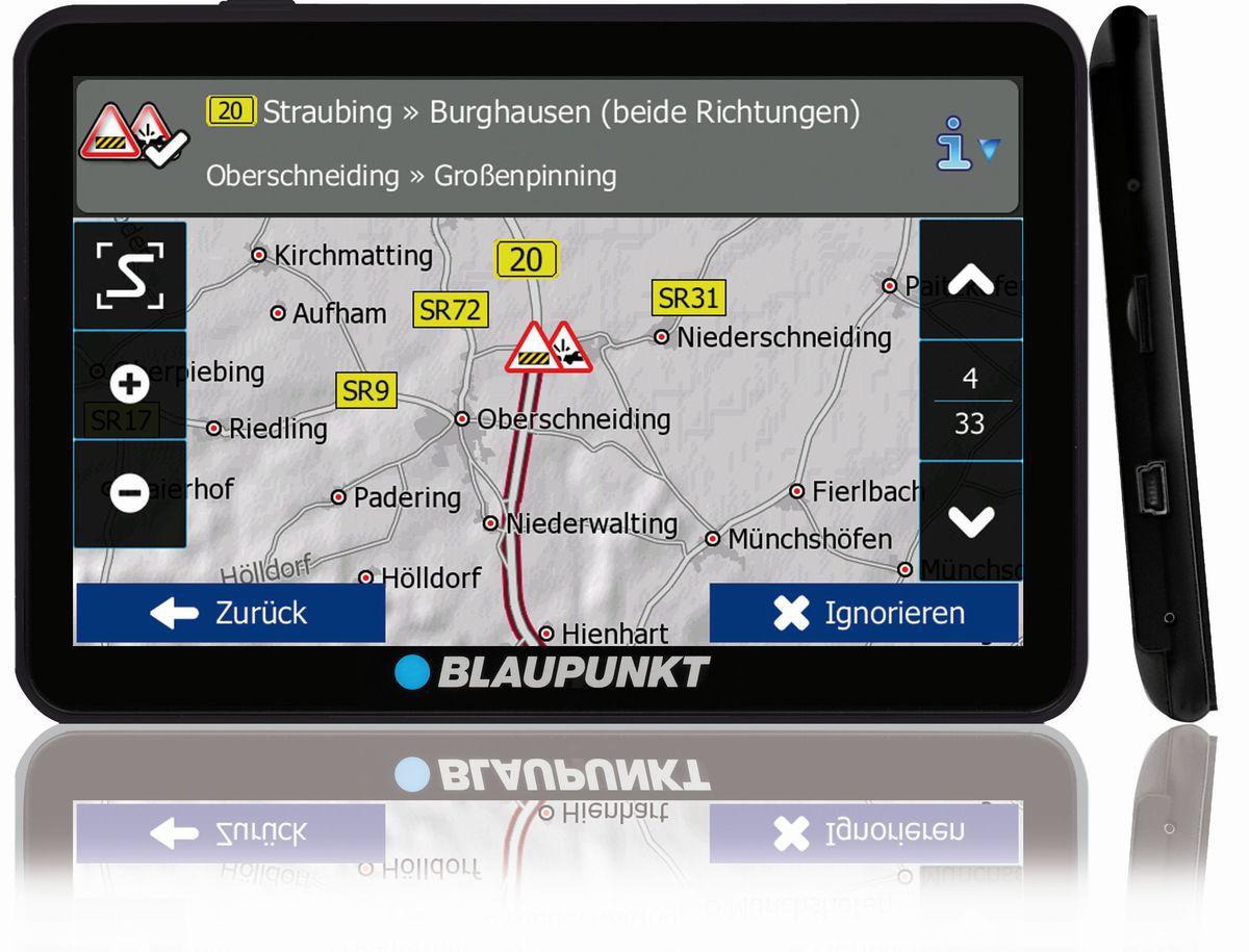 BLAUPUNKT Blaupunkt Navigationsgerät »Travelpilot 74 Camping EU LMU«