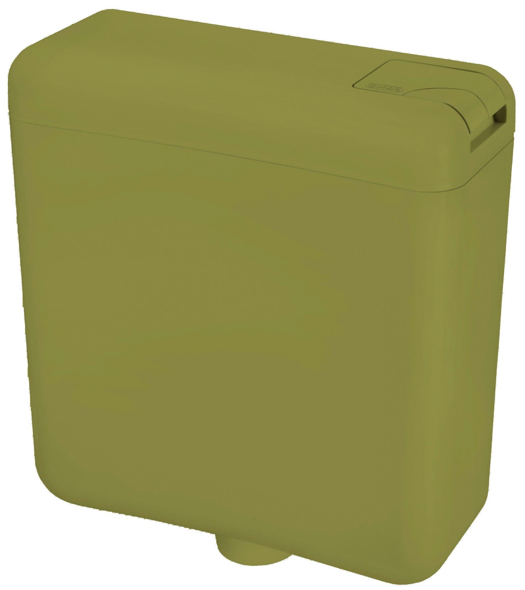 CORNAT Cornat WC-Spülkasten, moosgrün