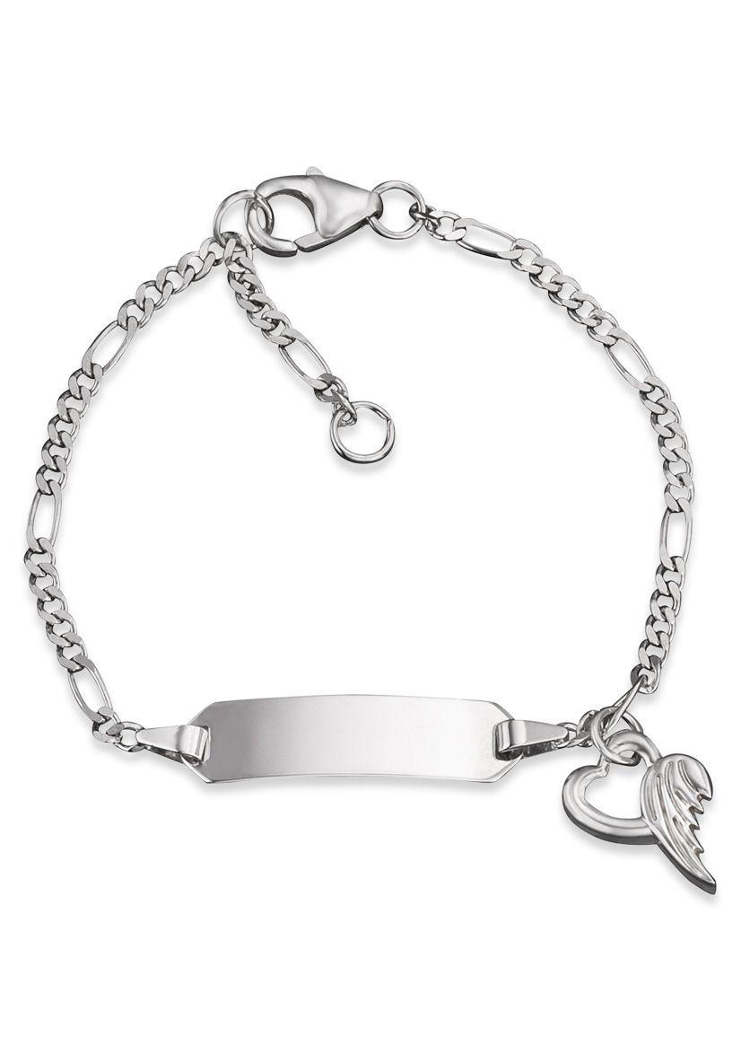 HERZENGEL Herzengel Armband, »Herz mit Flügel, HEB-NAME-01H«