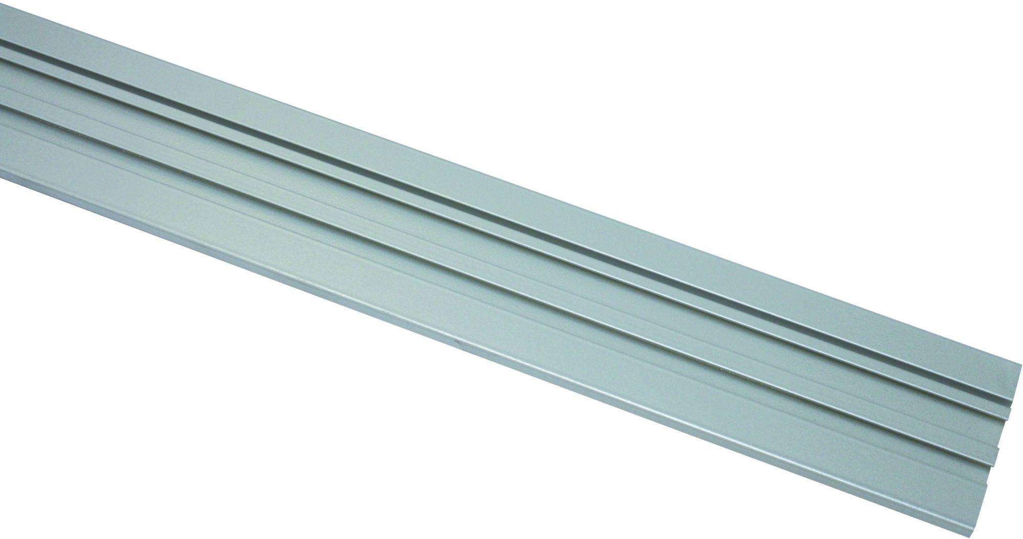 GARDINIA Gardinenschiene, Gardinia, »Aluminium«, 1 - 3-läufig, Schienensystem im Fixmaß