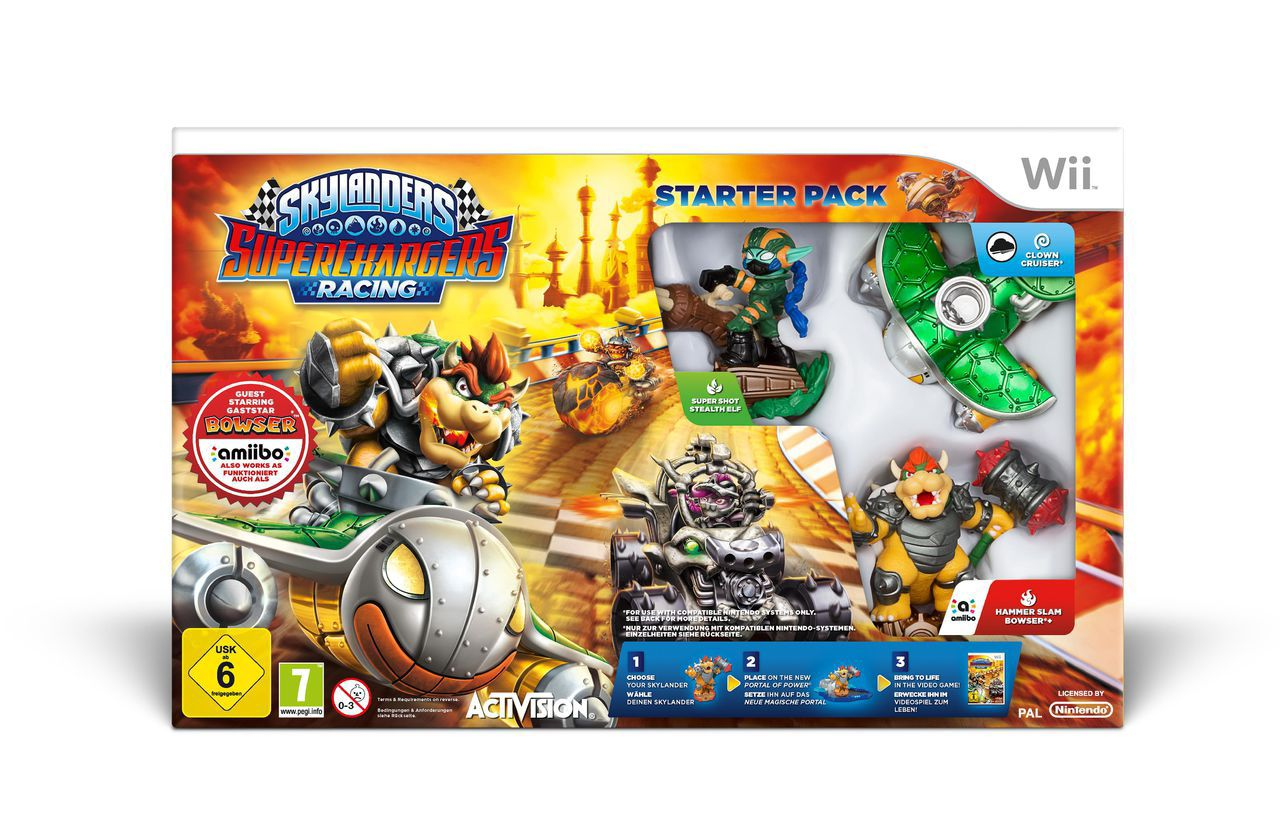 ACTIVISION Activision Wii - Spiel »Skylanders SuperChargers Racing Starter Pack«