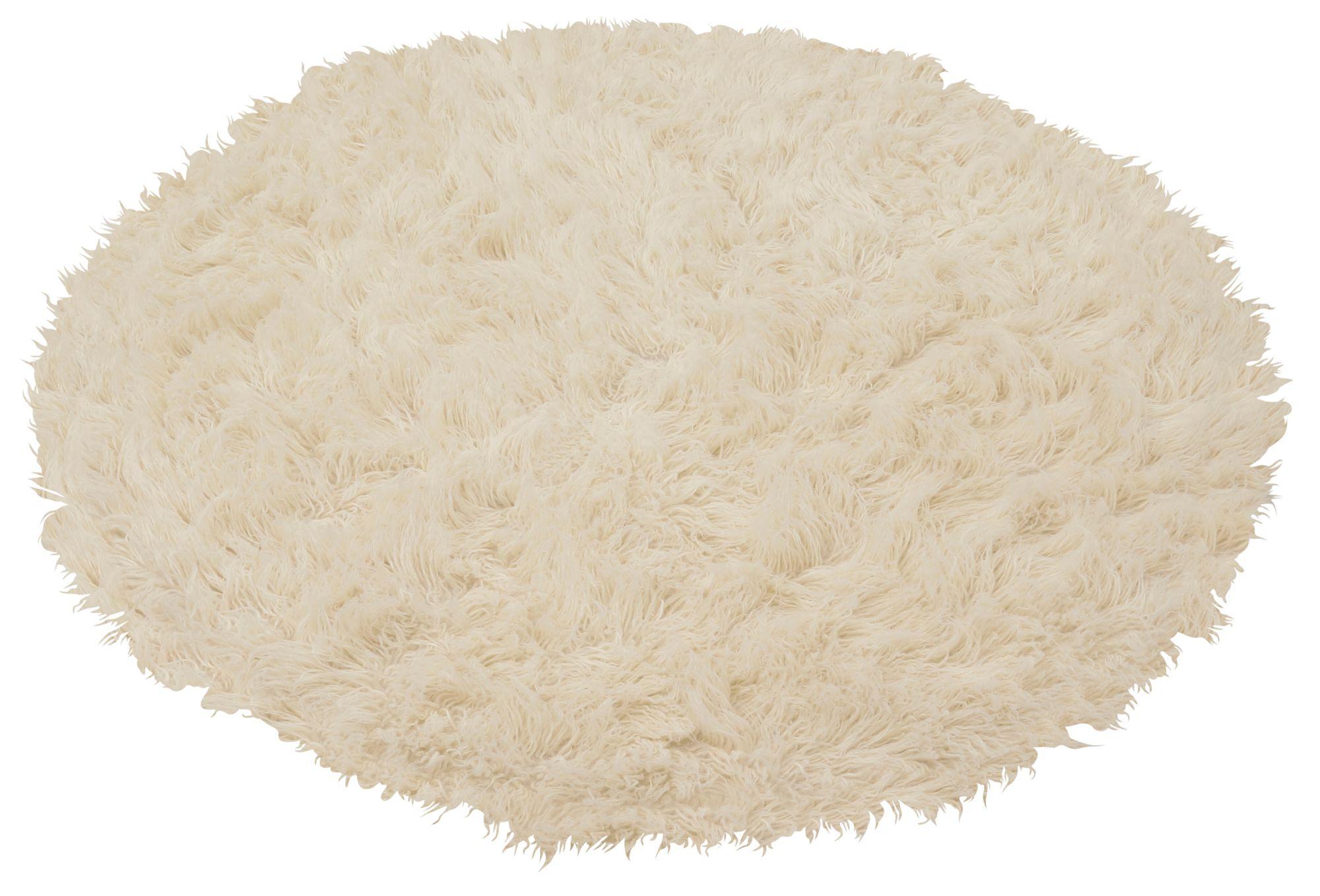 BÖING CARPET Teppich, Böing Carpet, Rund, »Flokati 1500 g«, handgearbeitet, Wolle