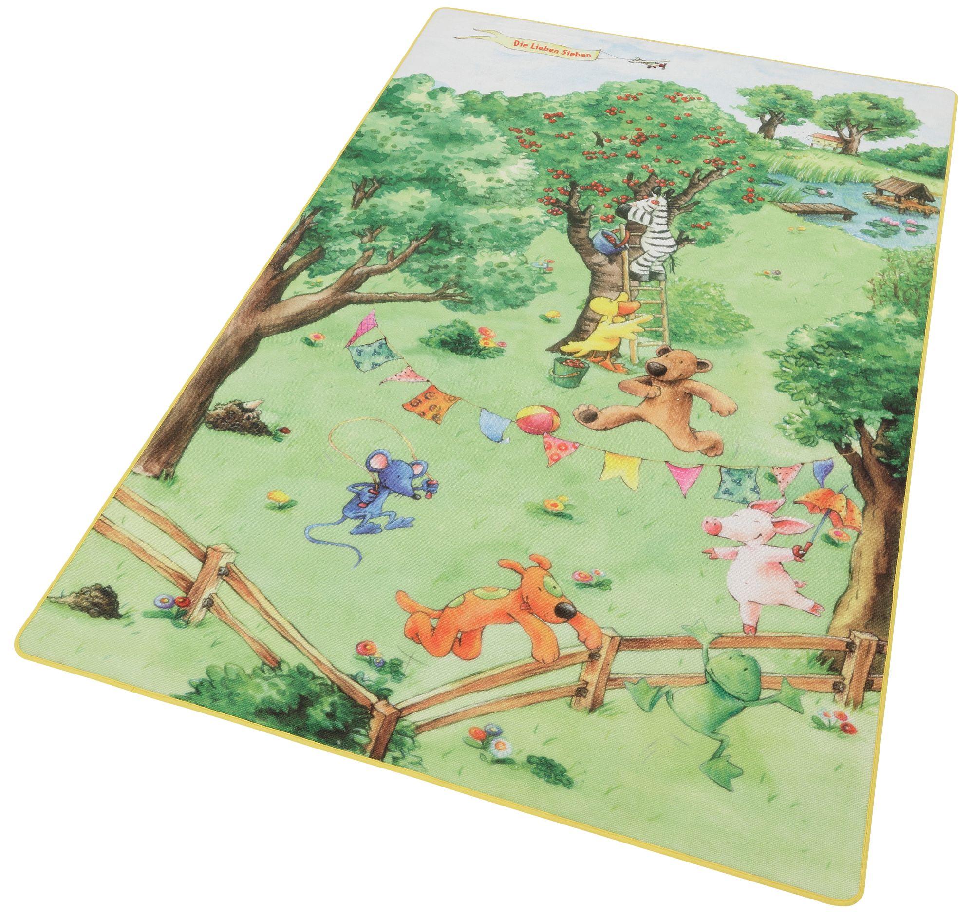 DIE LIEBEN SIEBEN Kinder-Teppich»LS-205« , Die lieben sieben