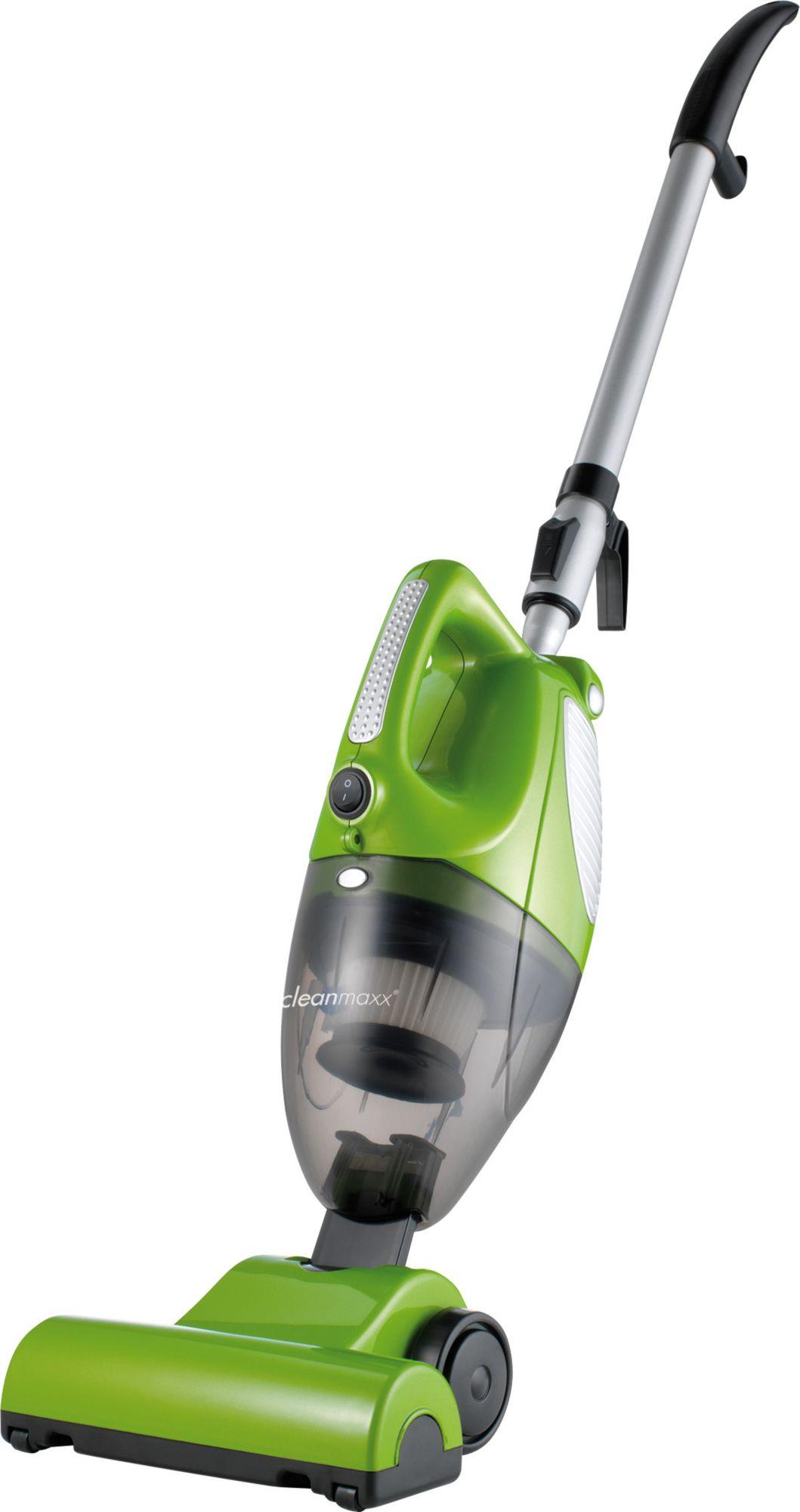 CLEAN MAXX Clean Maxx Turbo-Handstaubsauger 3in1, mit Bodendüse, Beutellos, B, grün