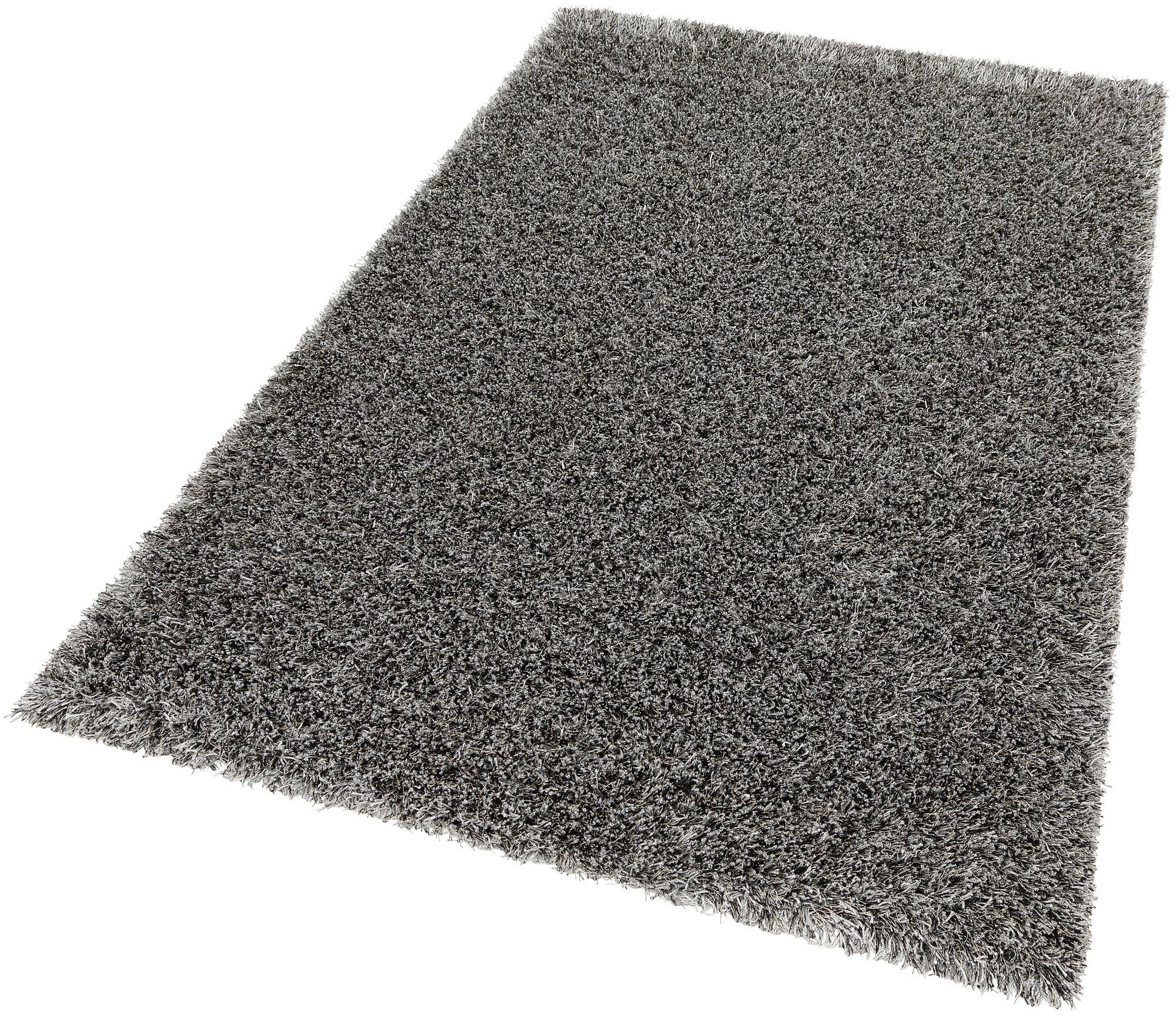 Hochflor-Teppich, SCHÖNER WOHNEN KOLLEKTION, »Feeling«, Höhe 55mm, handgetuftet