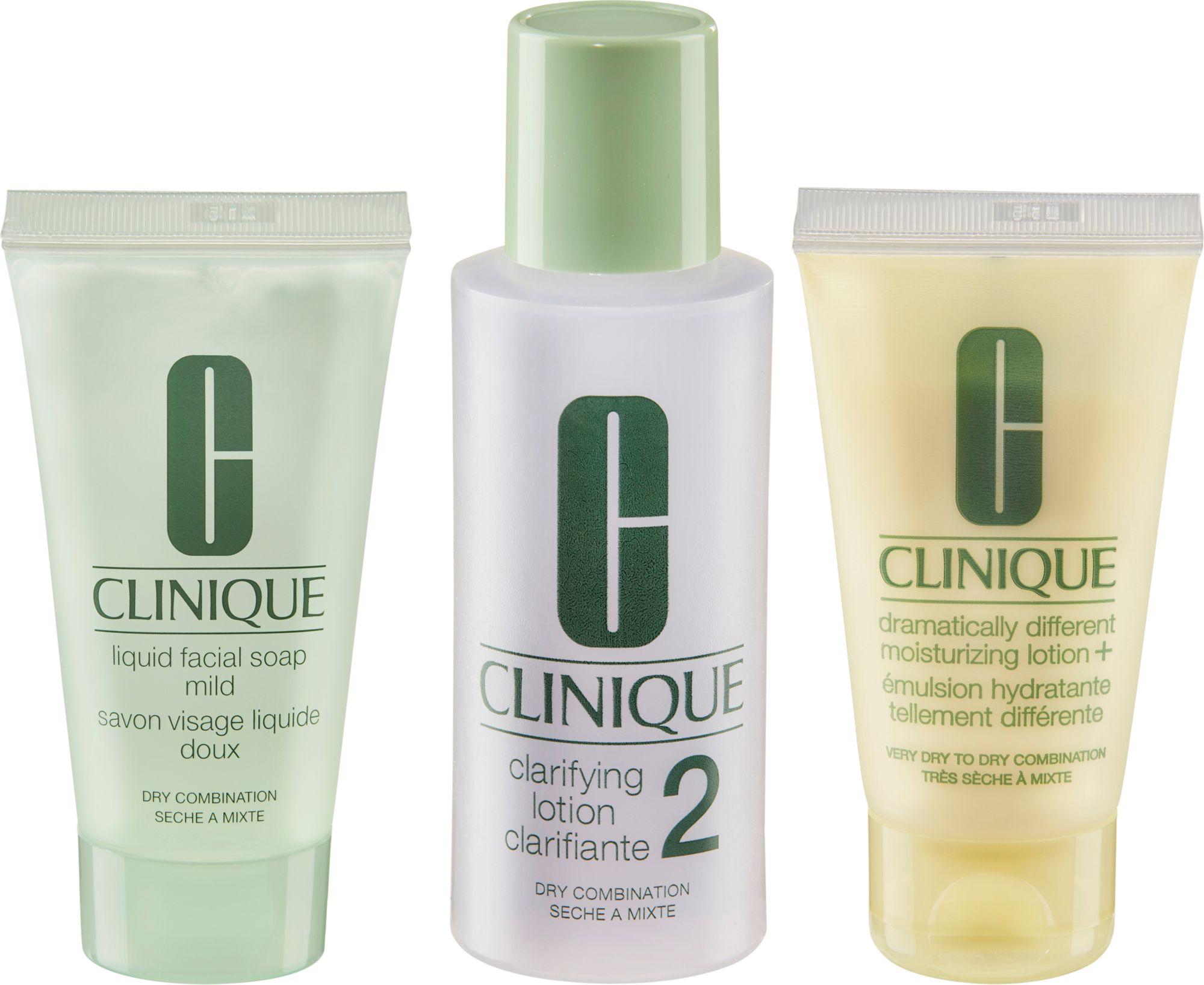 CLINIQUE Clinique, »3-Phasen-Systempflege Hauttyp 2«, Gesichtspflegeset