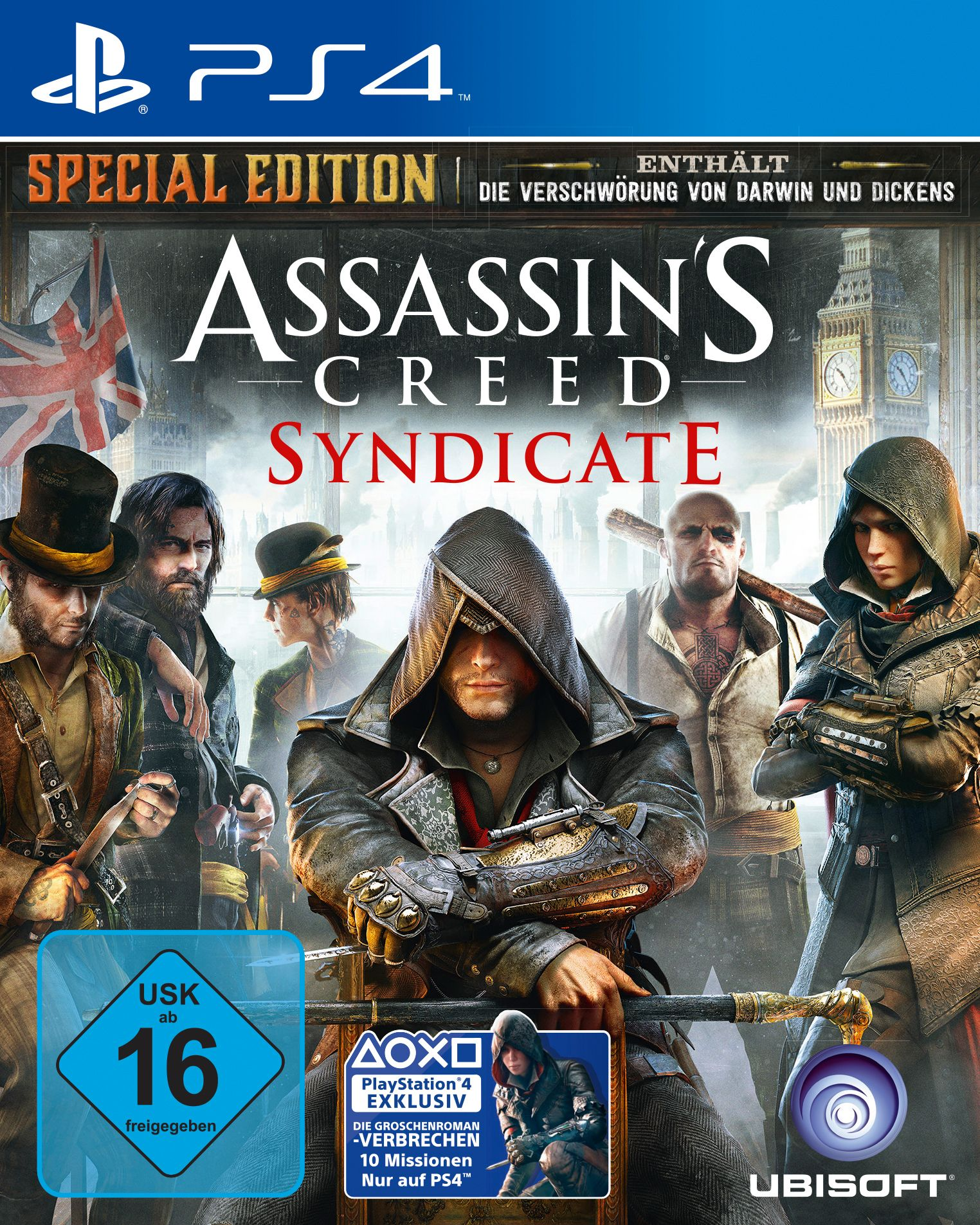 UBISOFT Assassins Creed Syndicate Special Edition PlayStation 4