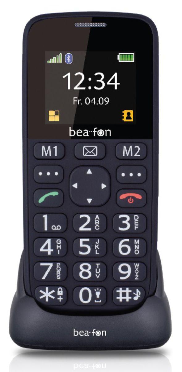 BEAFON Bea-fon Großtastenhandy SL140, schwarz
