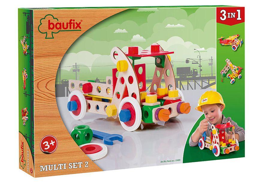 BAUFIX Baufix Holz Bauset, 95 Teile, »Multi Set 2«