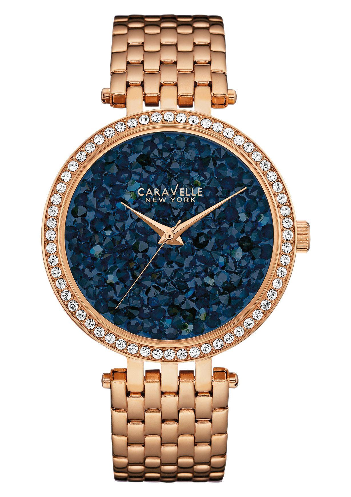 CARAVELLE NEW YORK Caravelle New York Quarzuhr »Crystal Rock, 44L186«