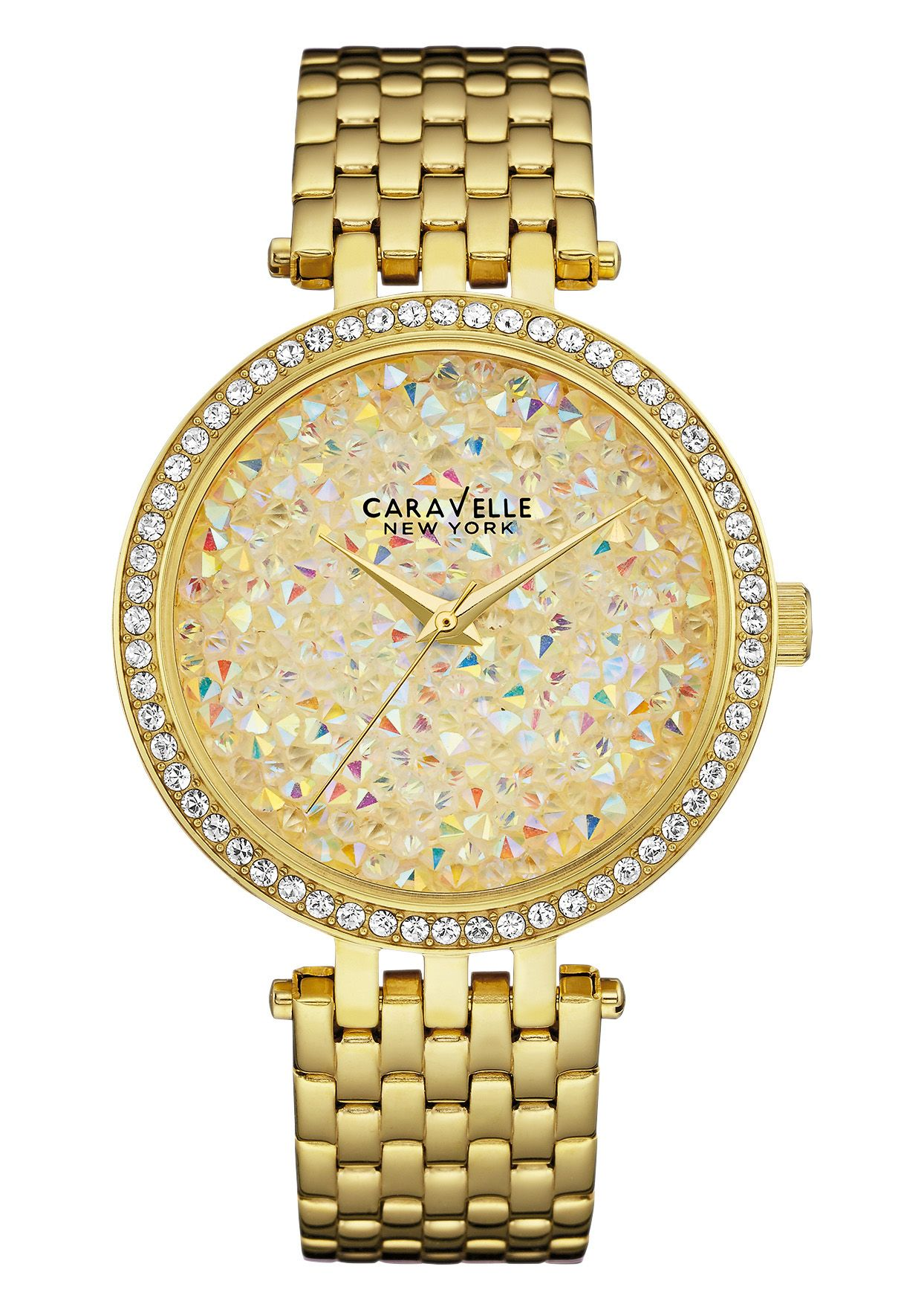 CARAVELLE NEW YORK Caravelle New York Quarzuhr »Crystal Rock, 44L184«