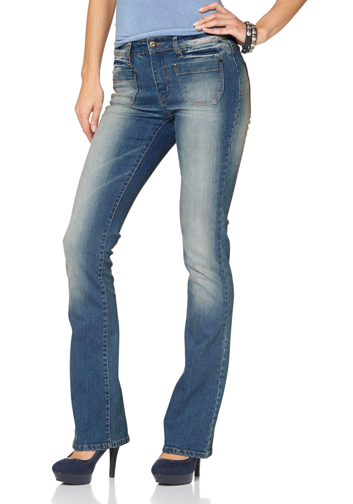 ARIZONA Arizona Bootcut-Jeans »Sailor«