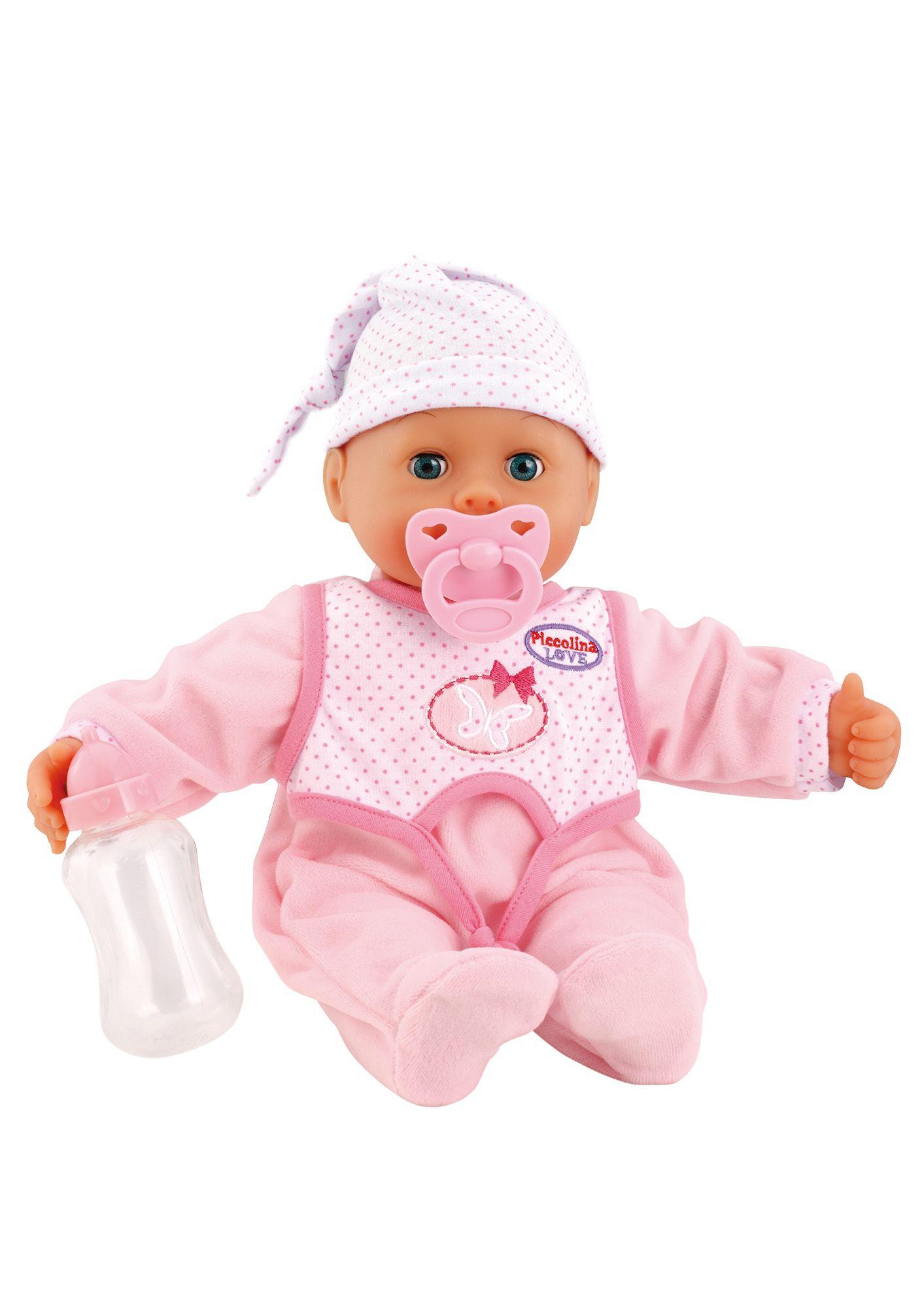 BAYER Bayer Design Babypuppe, »Piccolina - Laugh & Cry birthday Set«