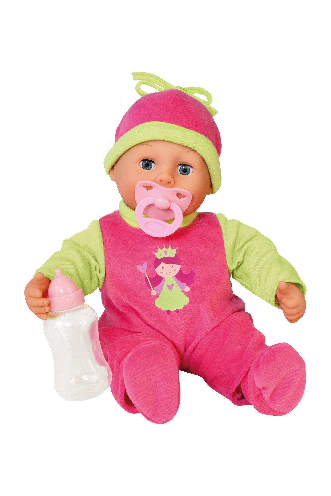 BAYER Bayer Design Babypuppe, »First Words«, pink