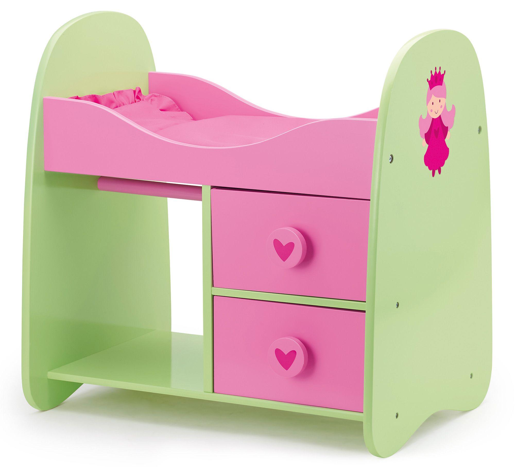 BAYER Bayer Design Puppenbett, »Princess World, Schrankbett«
