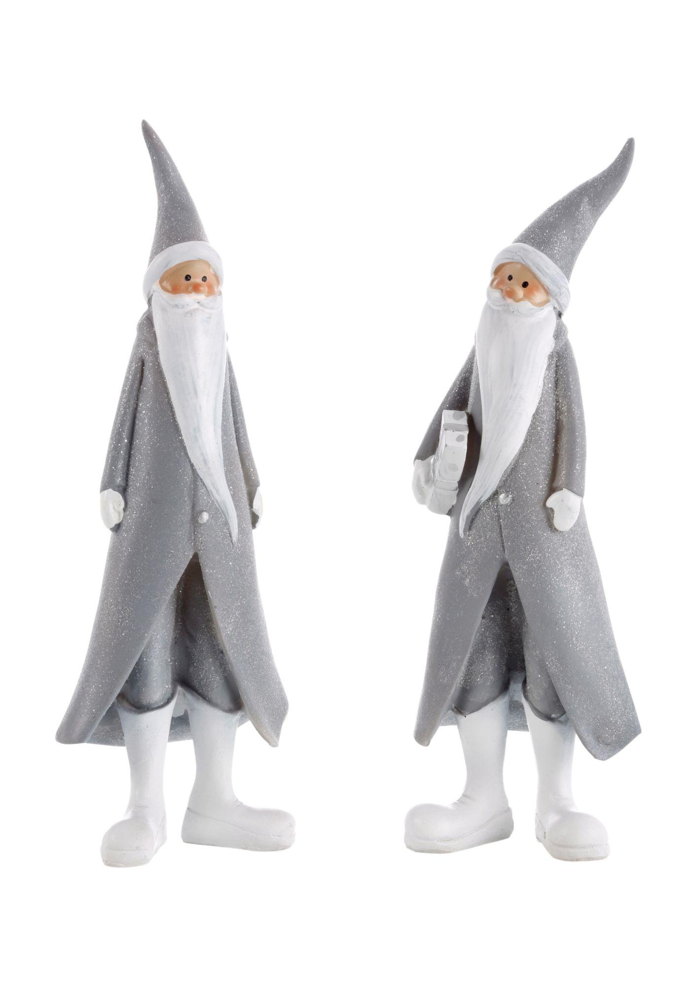 THÜRINGER GLASDESIGN Figuren-Set, »Santa« (2er Set)
