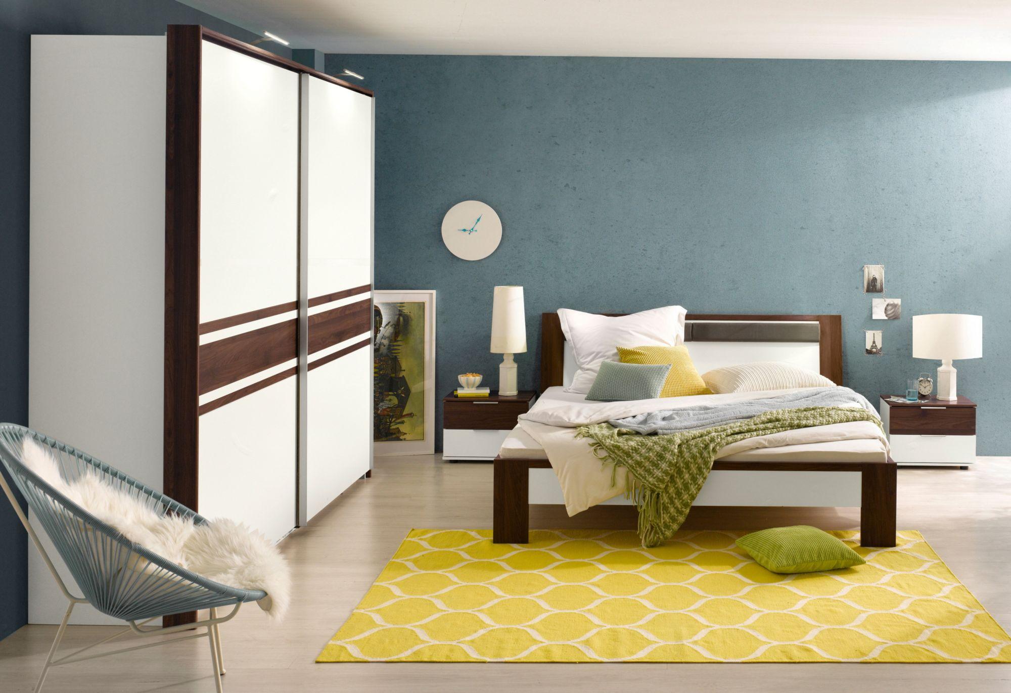 FRESH TO GO Fresh To Go Schlafzimmer-Set mit Schwebetürenschrank (4-tlg.)