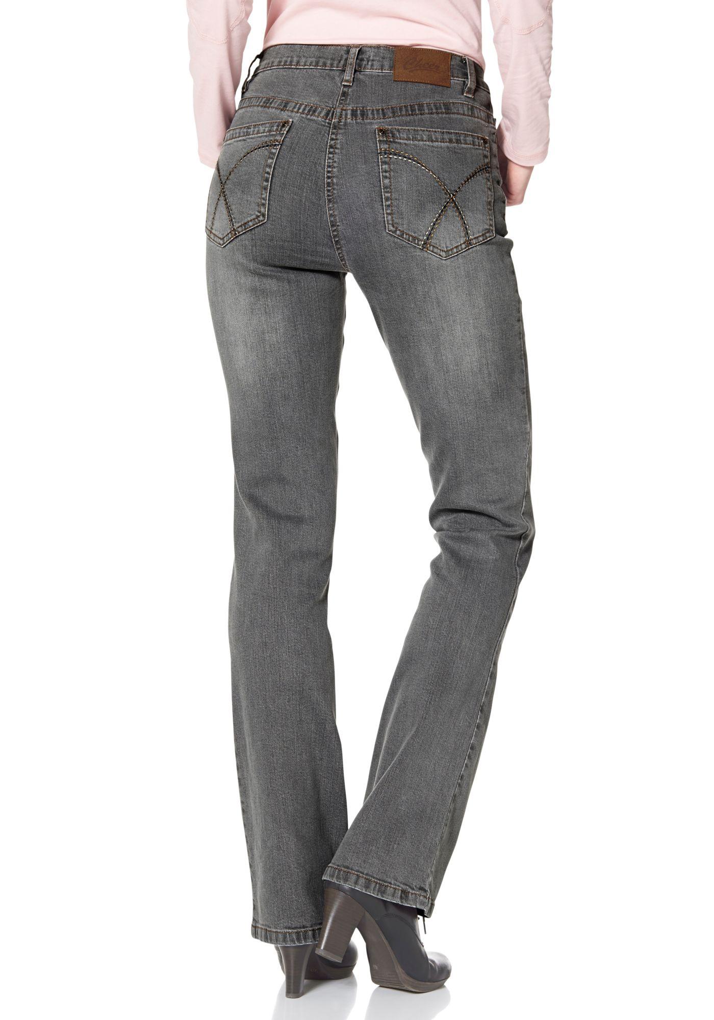 CHEER Cheer Bootcut-Jeans »Simone«