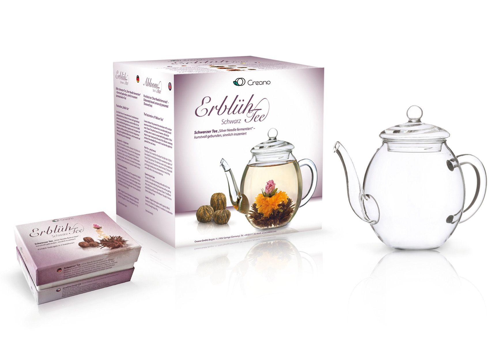 CREANO Creano Erblüh-Tee, »Schwarzer Tee«