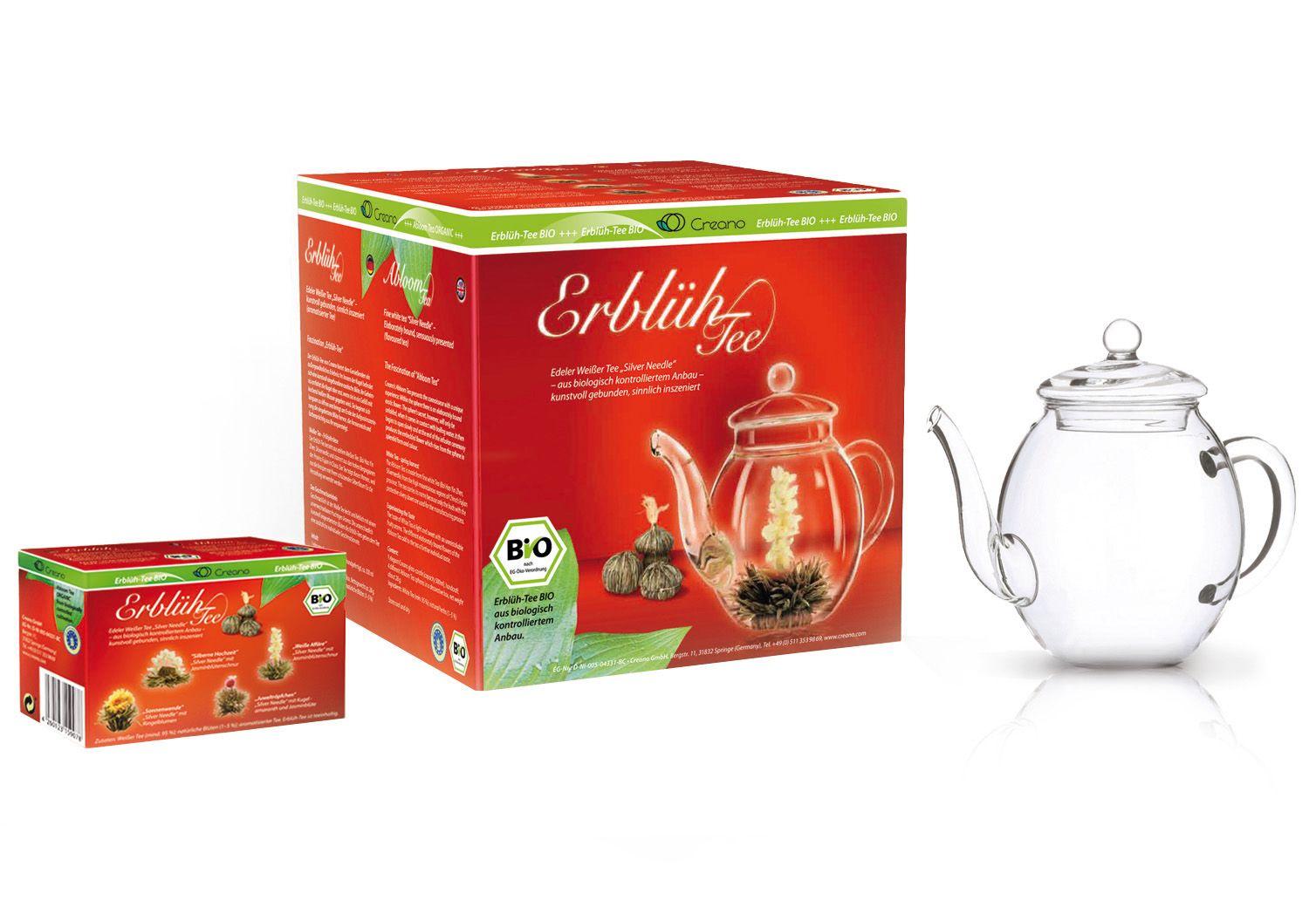 CREANO Creano Erblüh-Tee BIO, »Weißer Tee«