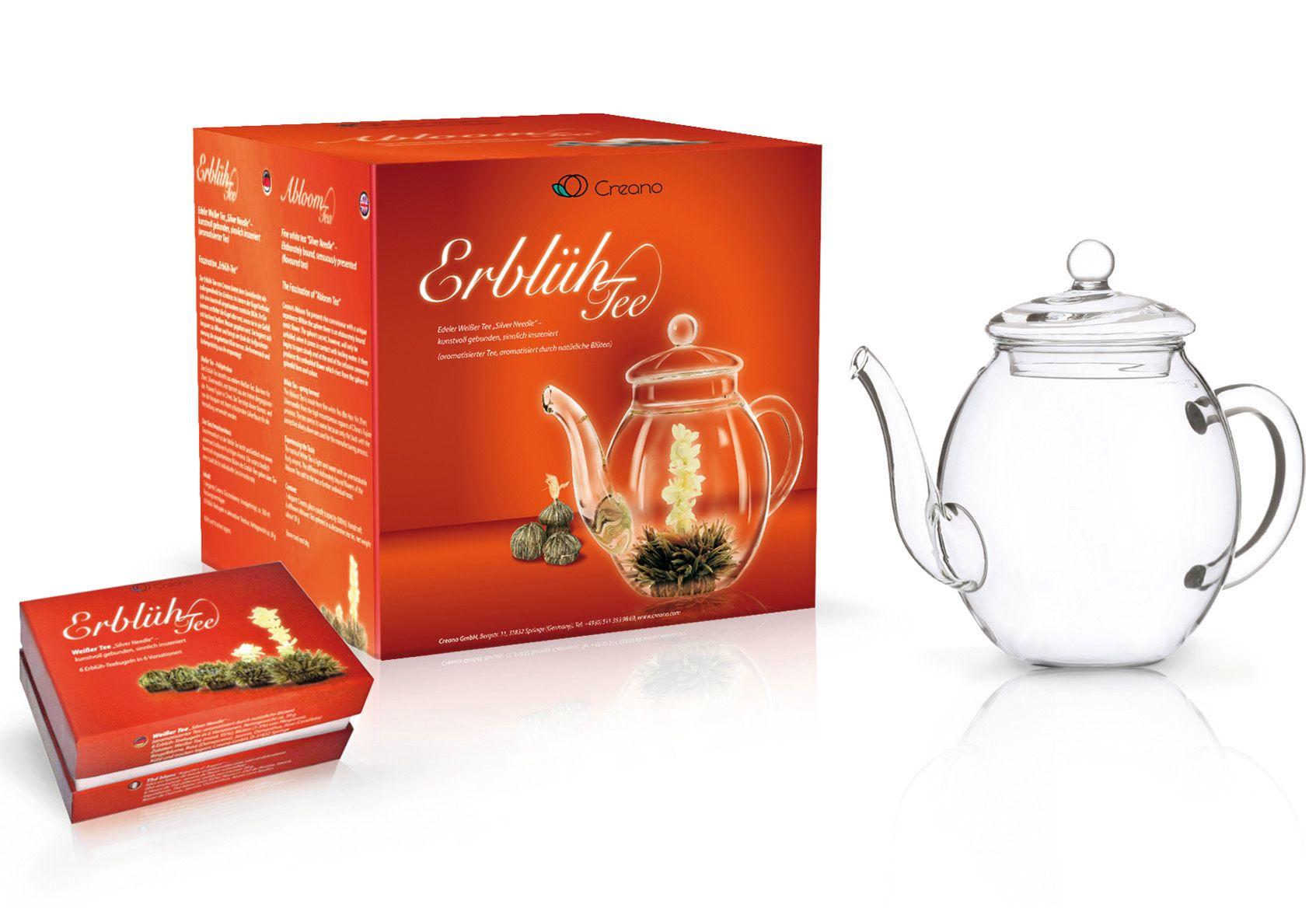 CREANO Creano Erblüh-Tee Geschenk-Set, »Weißer Tee«