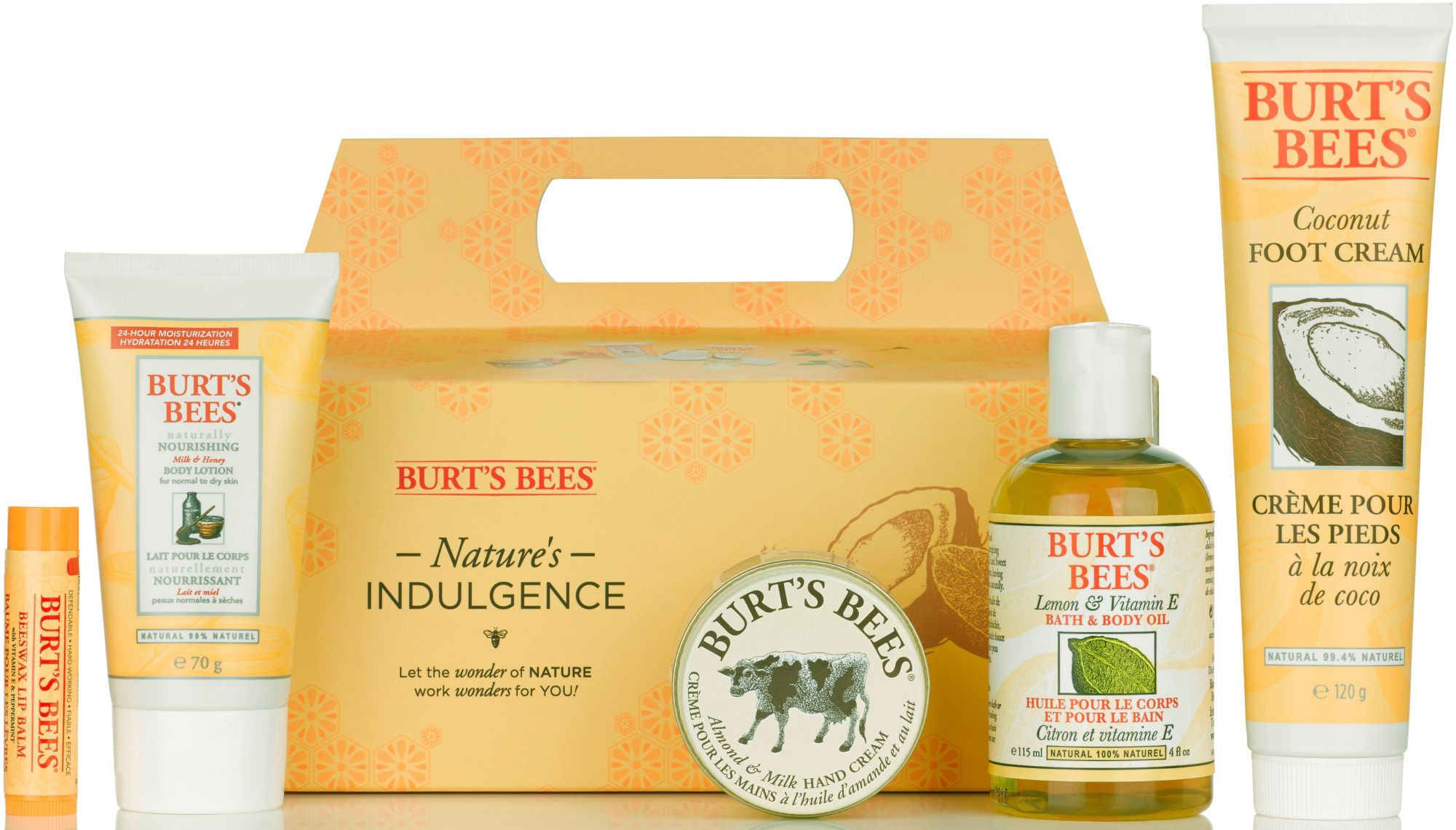 BURT´S BEES Burt´s Bees, »Nature's Indulgence«, Geschenkset (5-tlg.)