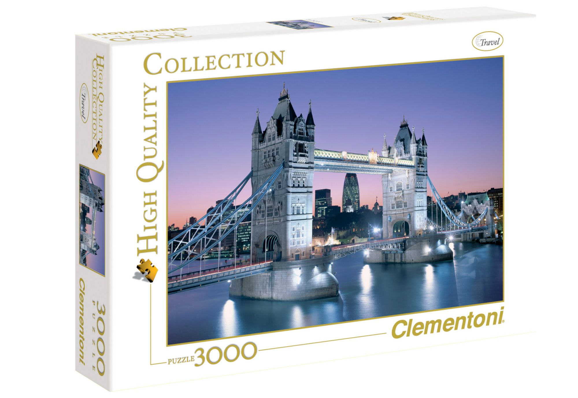 CLEMENTONI Clementoni Puzzle, 3000 Teile, »Tower Bridge«