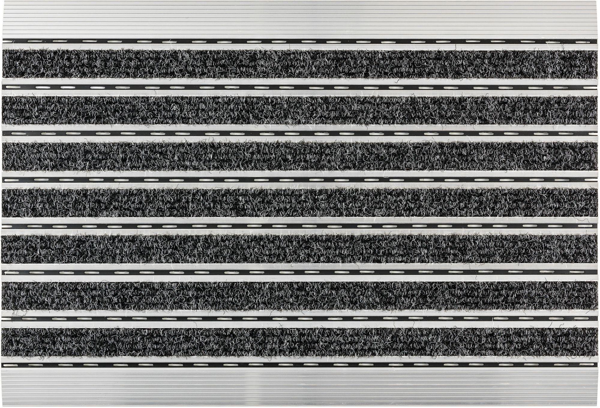 ASTRA Fußmatte, Astra, »Rips«, mit Aluminiumrahmen