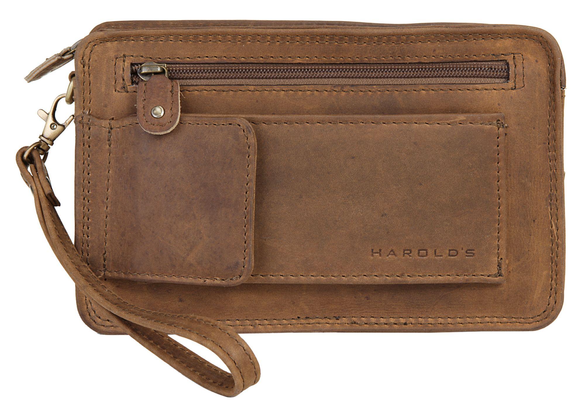 HAROLDS Harold's Leder Handgelenk Tasche »Antik«