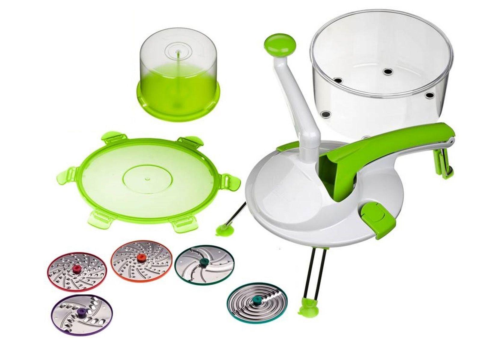 GENIUS Genius® Küchenmaschine, 9-teilig, »Roto Champ«