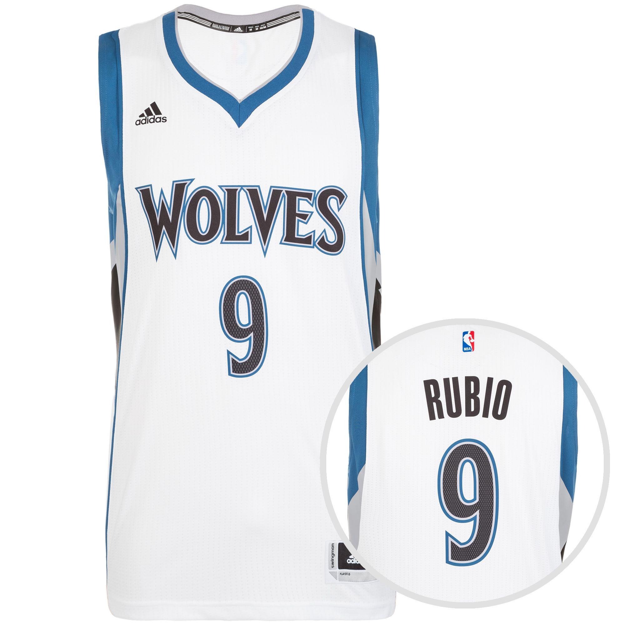 ADIDAS PERFORMANCE adidas Performance Minnesota Timberwolves Rubio Swingman Basketballtrikot Herren