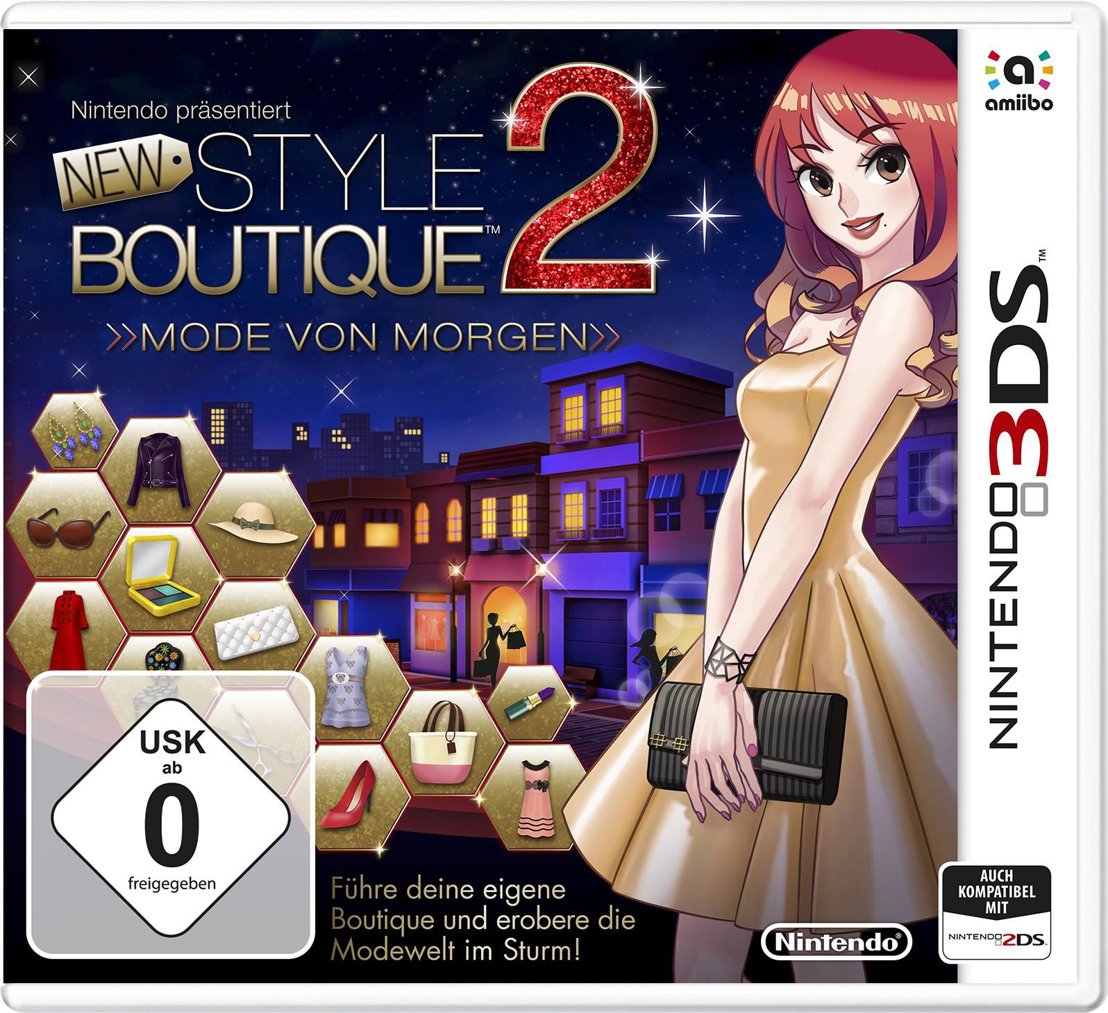 NINTENDO 3DS New Style Boutique 2 - Fashion Forword, Nintendo 3DS-Spiel